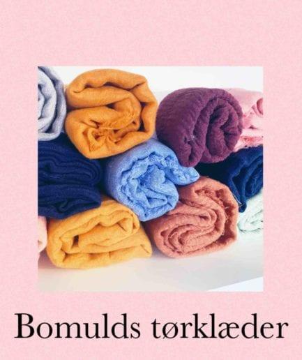 Bomulds tørklæder