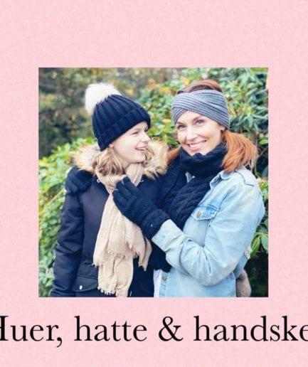 Handsker, huer & hatte