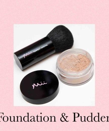 Foundation & pudder